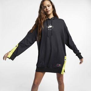 NWT Nike Women's Sportswear Hoodie Dress